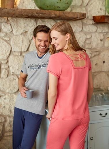 Dagi Kadın Pijama Takımı Kırmızı